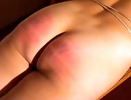 Sexy mom with pretty body asks to spank her hot buttocks.